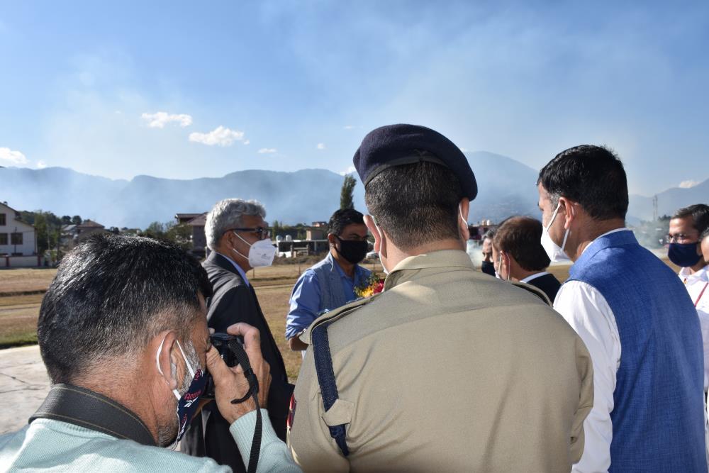 Visit of Sh. R. K. Singh, Hon
