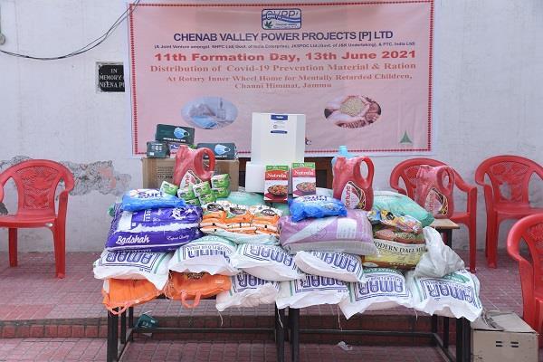 CVPPPL distributes Grocery and  Covid-19 preventi...