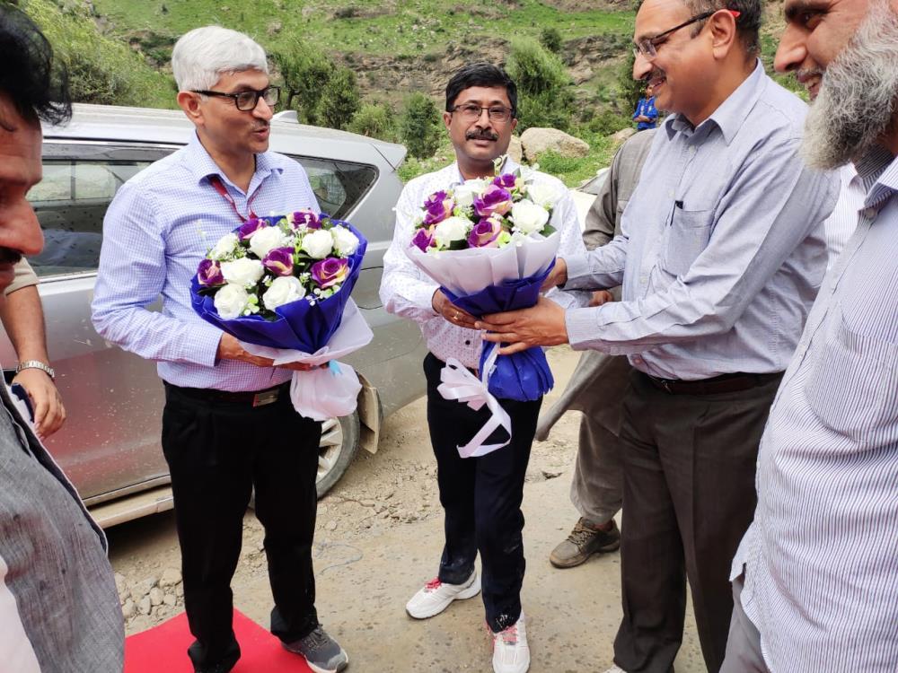 Visit of Director Personnel Sh. N K Jain