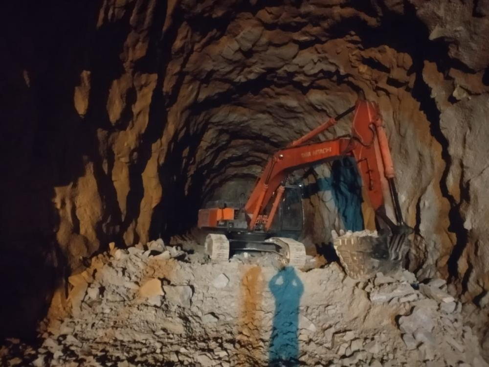 Diversion Tunnel Works at DAM Site dated 01-09-2020