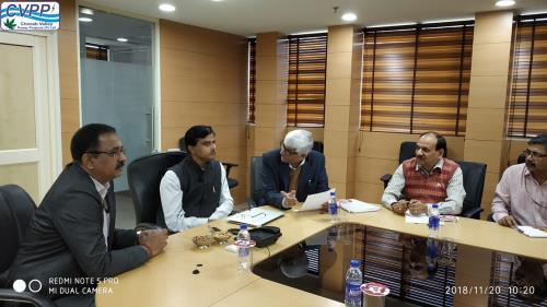 Review Meeting by Sh Aniruddha Kumar, Joint Secre...
