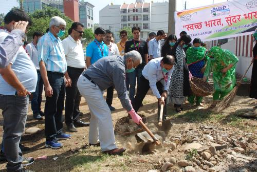 CVPP organises cleanliness drive under Swacch Bharat Abhiyan on 05.05.2018