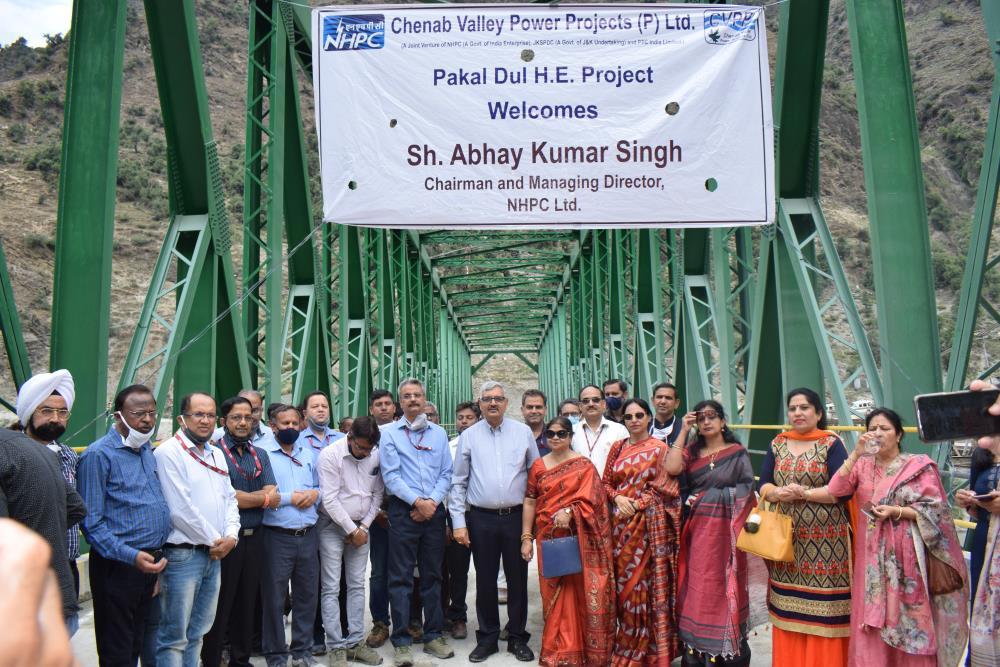 Power House  site visit - Bridge Inaguration