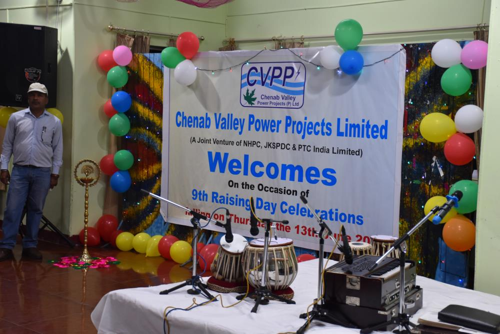 CVPPPL 9TH RAISING DAY CELEBRATIONS ON 13.06.2019 AT KISHTWAR