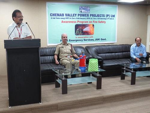 CVPPPL organises  Mock Drill on Fire Safety in as...