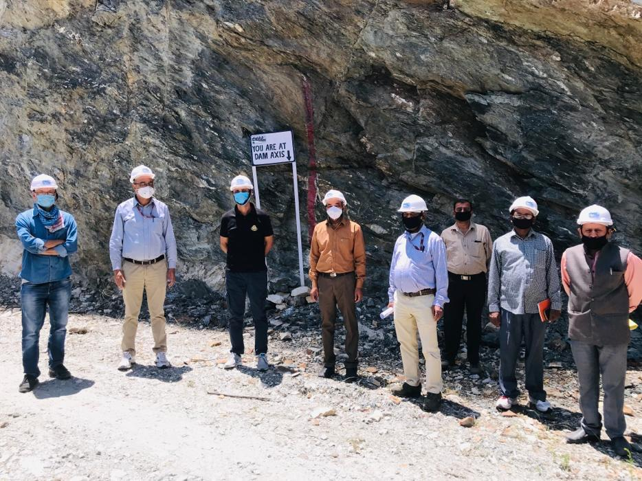 Visit of MD, CVPPPL Sh. A.K. Choudhary at Kiru Project dated 18.06.2020