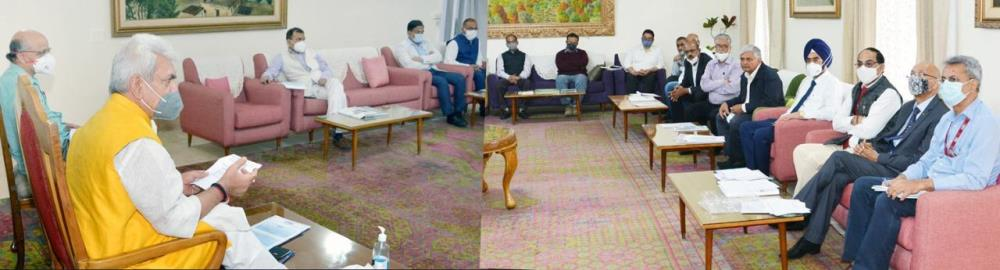 Hon'ble Lt Governor takes comprehensive review of...