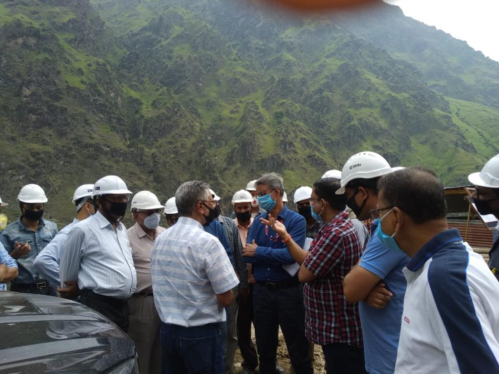 MD, CVPPPL visits Pakal Dul and Kiru HE Projects ...