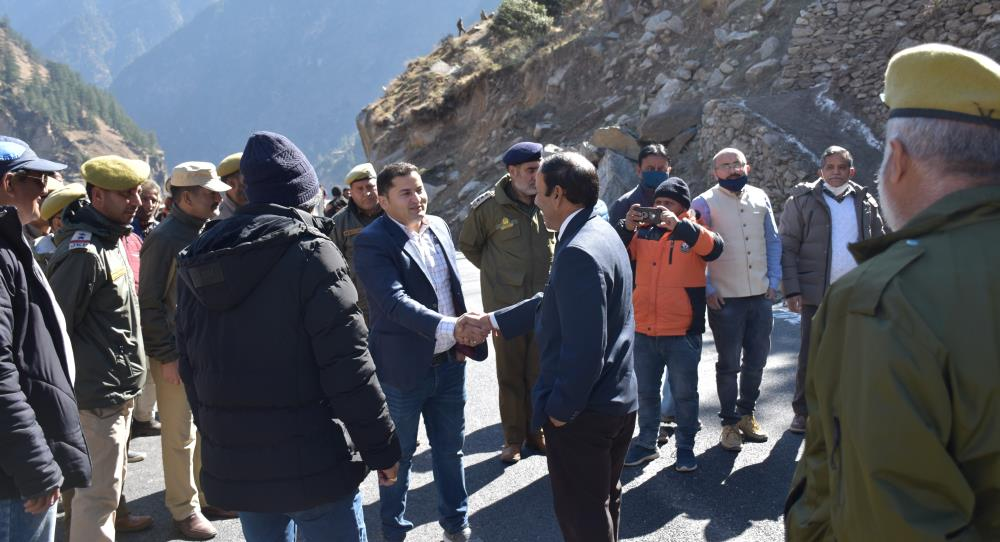 SITE VISIT OF FOREST CONSERVATOR CHENAB CIRCLE SH...