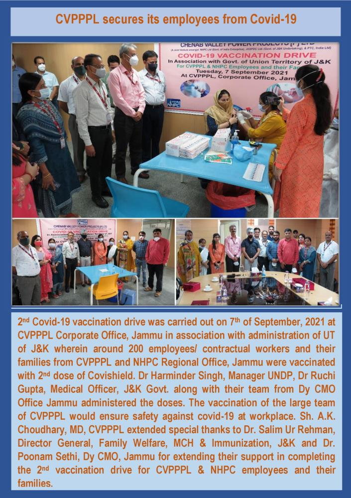 CVPPPL secures its employees from Covid-19