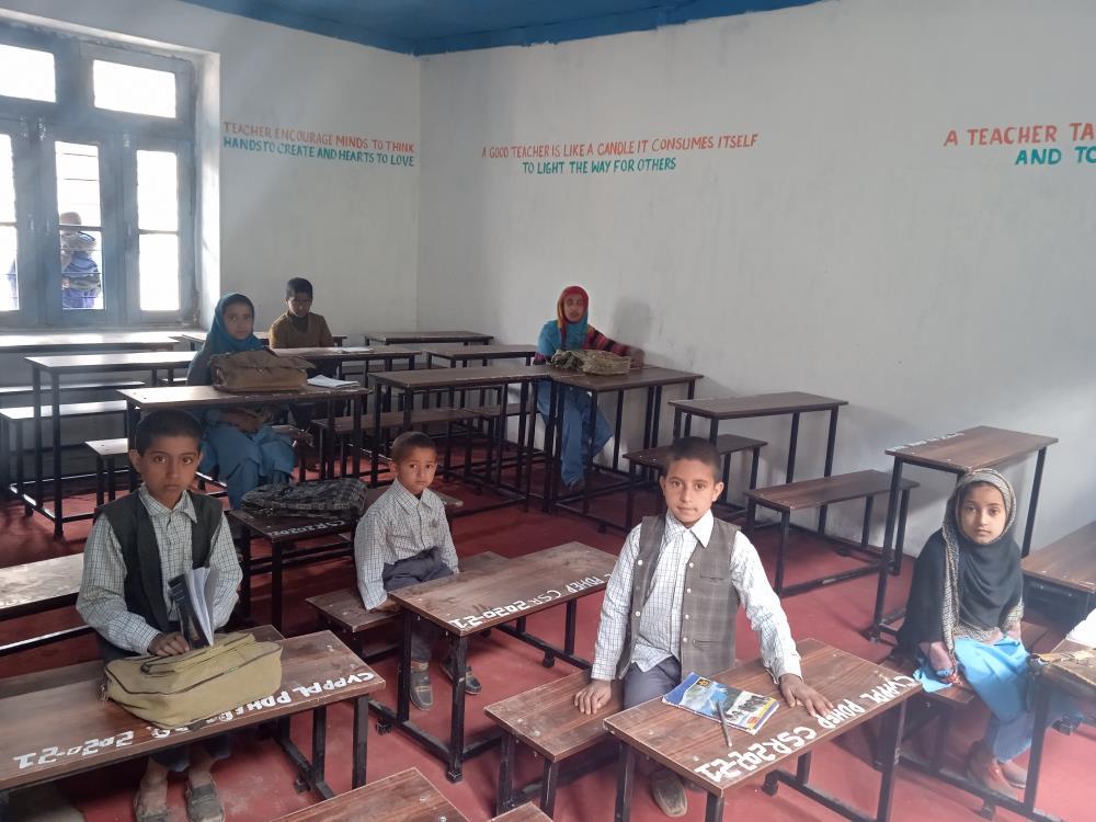 Govt Middle School Satkrandan, Cherji Nagseni