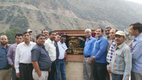 Inauguration of Bhandarkot Bridge