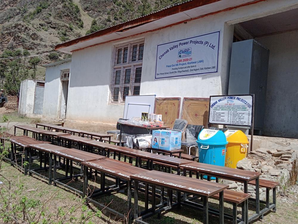 Govt. Primary School Chandri, Dool