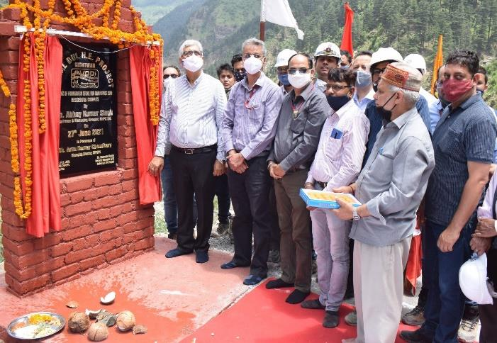 Report on CMD, NHPC visit to CVPPPL projects from...