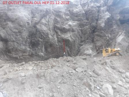 Construction Works at Pakal Dul HEP Kishtwar